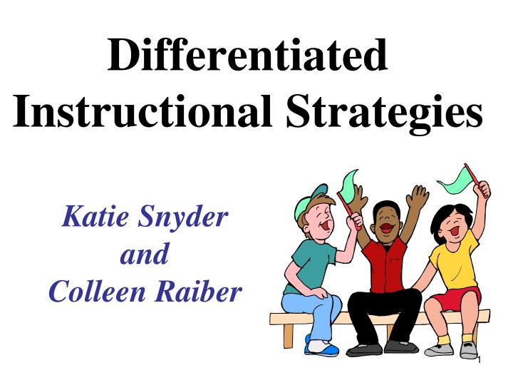 differentiated instructional strategies n.