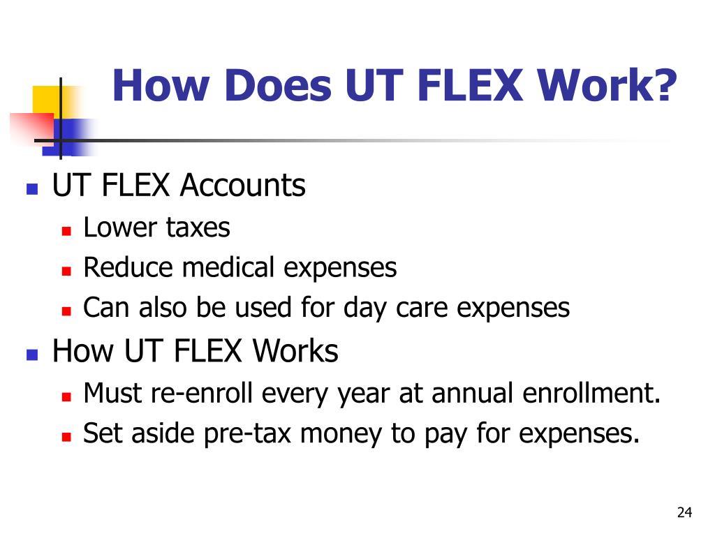 How Does UT FLEX Work?
