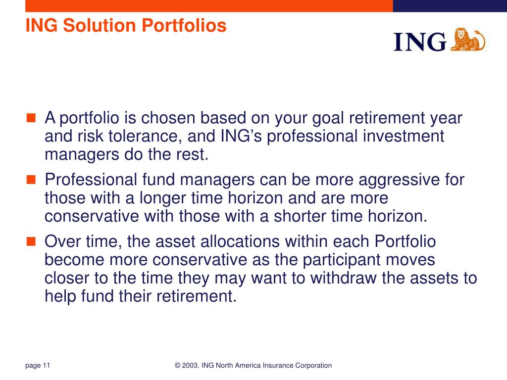 ING Solution Portfolios