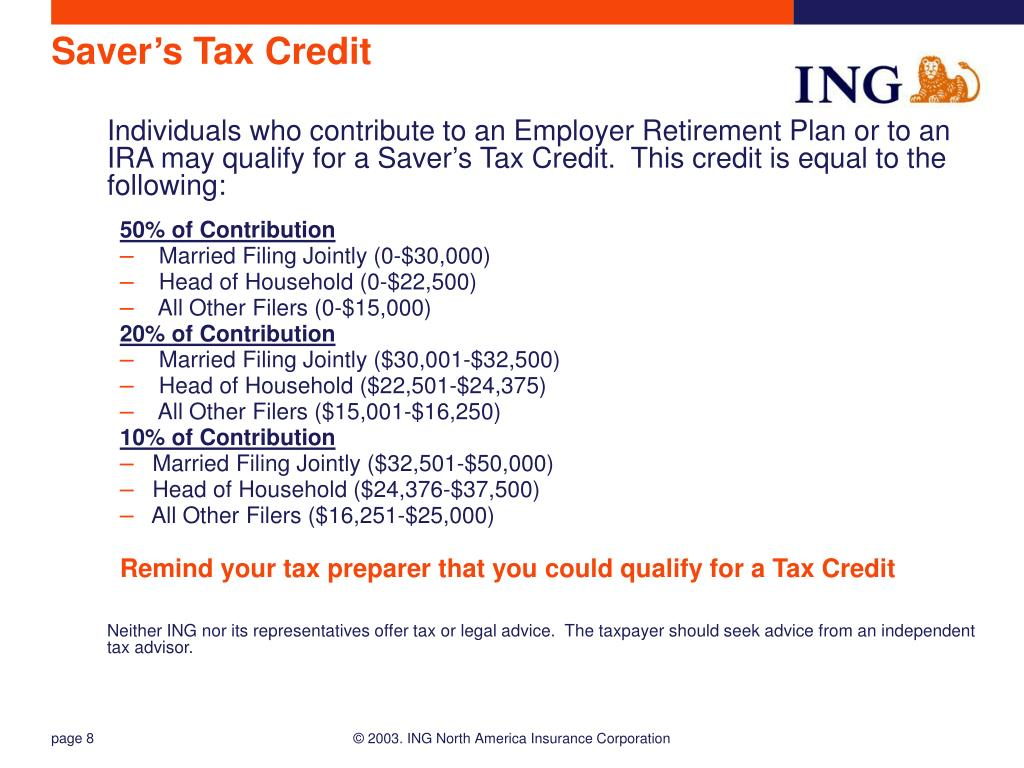 Saver's Tax Credit