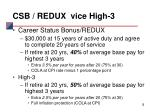 csb redux vice high 3