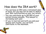 how does the ira work