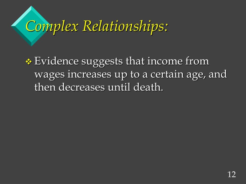 Complex Relationships: