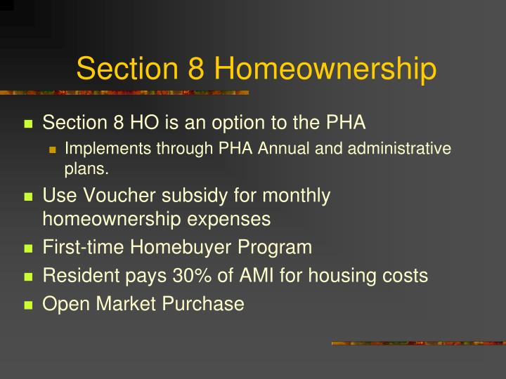 Section 8 homeownership2