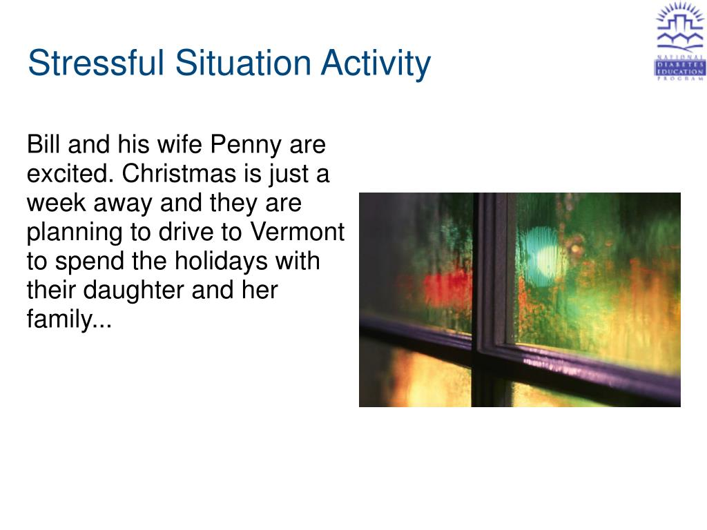 Stressful Situation Activity