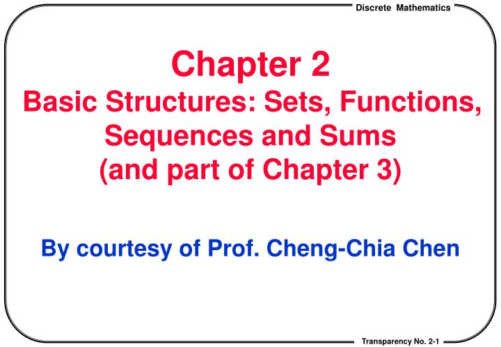 chapter 2 basic structures sets functions sequences and sums and part of chapter 3
