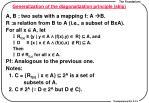 generalization of the diagonalization principle skip
