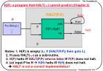 h p a program that halt cannot predict chapter 3