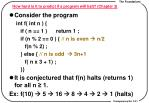 how hard is it to predict if a program will halt chapter 3