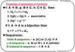 properties of operations on functions