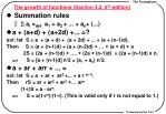 the growth of functions section 3 2 6 th edition