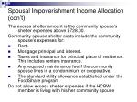 spousal impoverishment income allocation con t