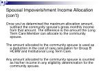 spousal impoverishment income allocation con t34