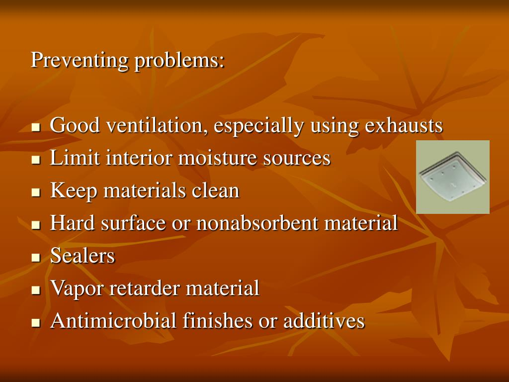 Preventing problems: