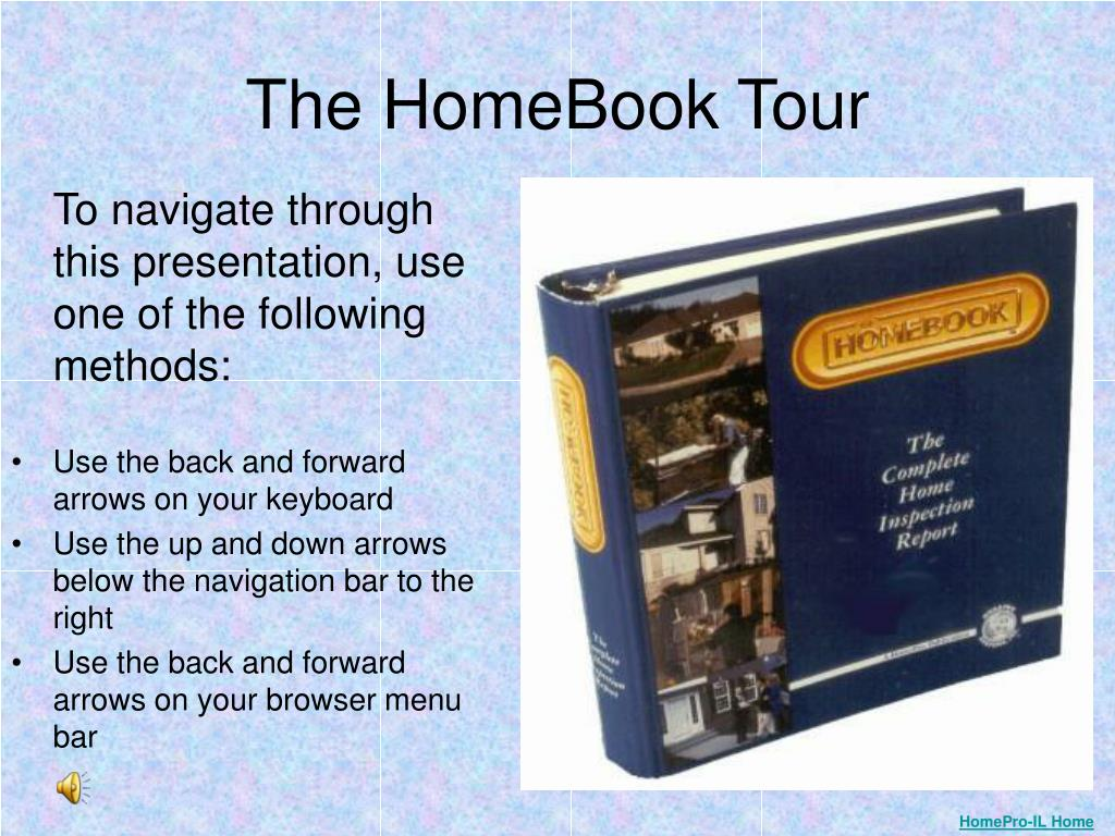 the homebook tour