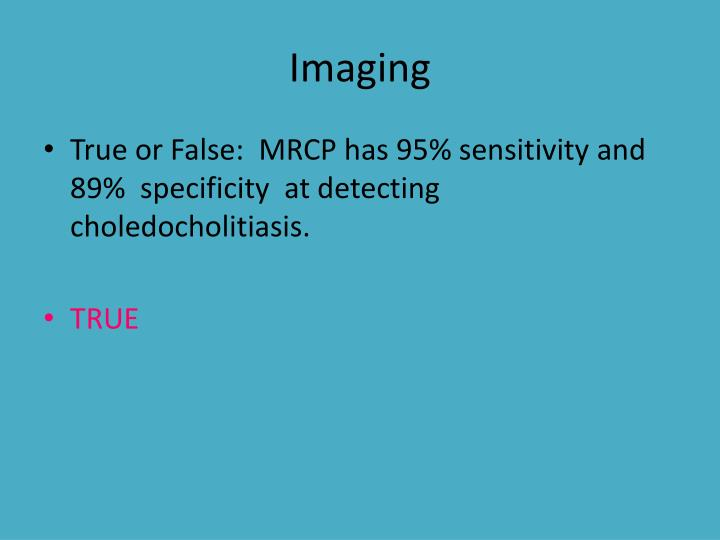 Imaging