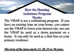 how the housing assistance program works24