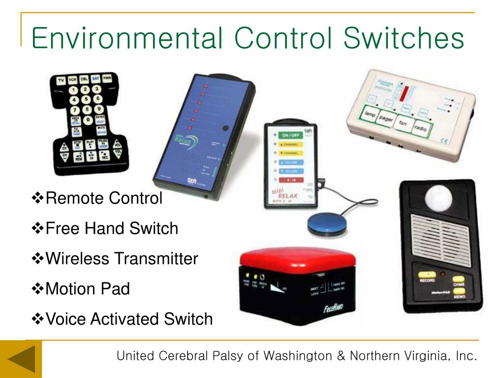 Environmental Control Switches