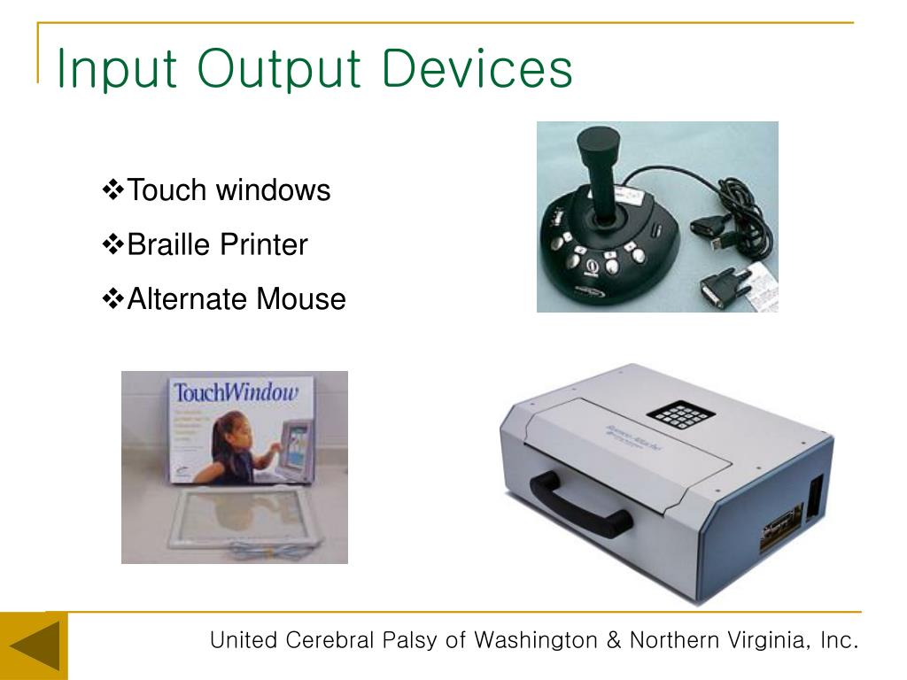 Input Output Devices