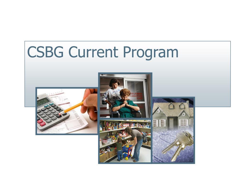 CSBG Current Program