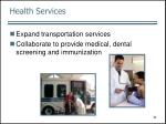 health services31