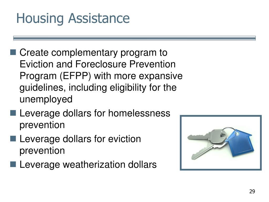 Housing Assistance
