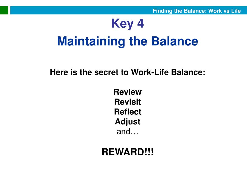 Finding the Balance: Work vs Life