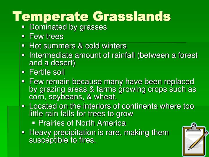 Temperate Grasslands