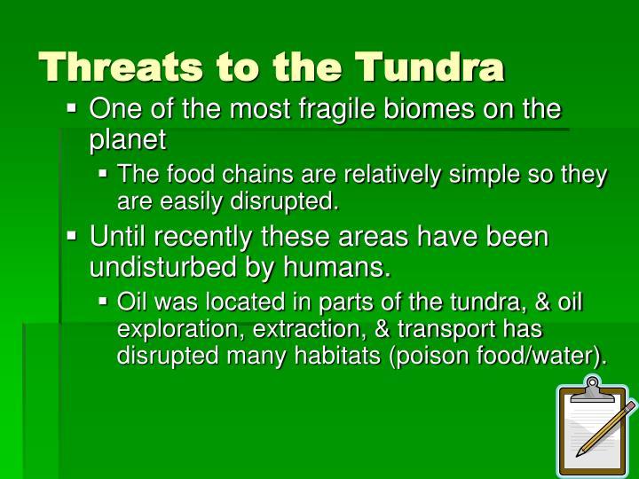 Threats to the Tundra
