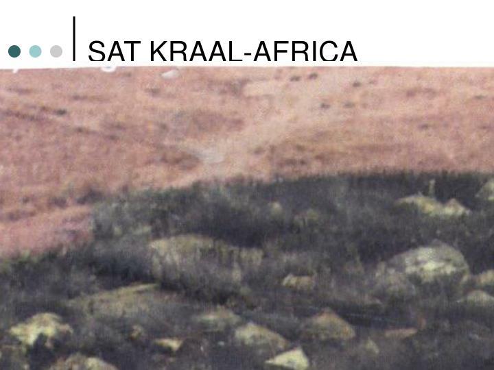 SAT KRAAL-AFRICA