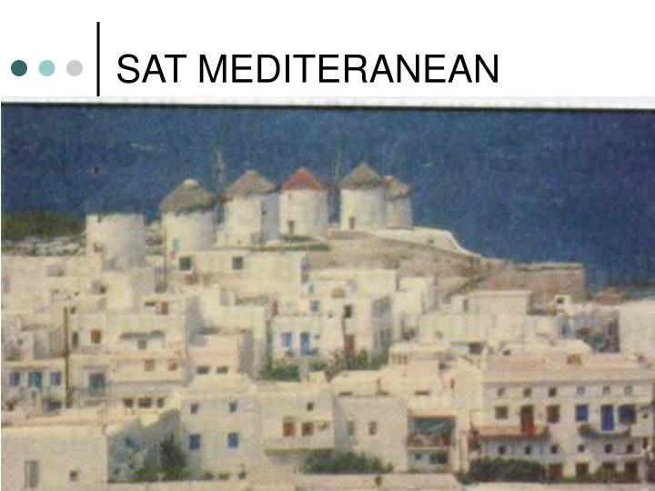 SAT MEDITERANEAN