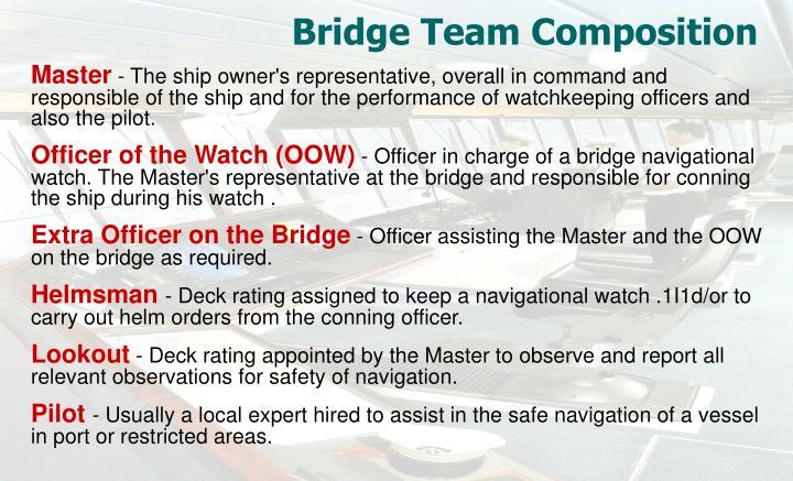 Bridge Team Composition