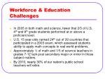 workforce education challenges