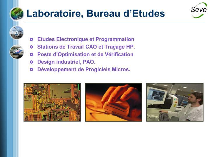 Etudes Electronique et Programmation