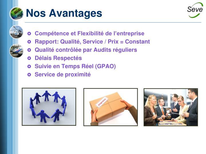 Compétence et Flexibilité de l'entreprise