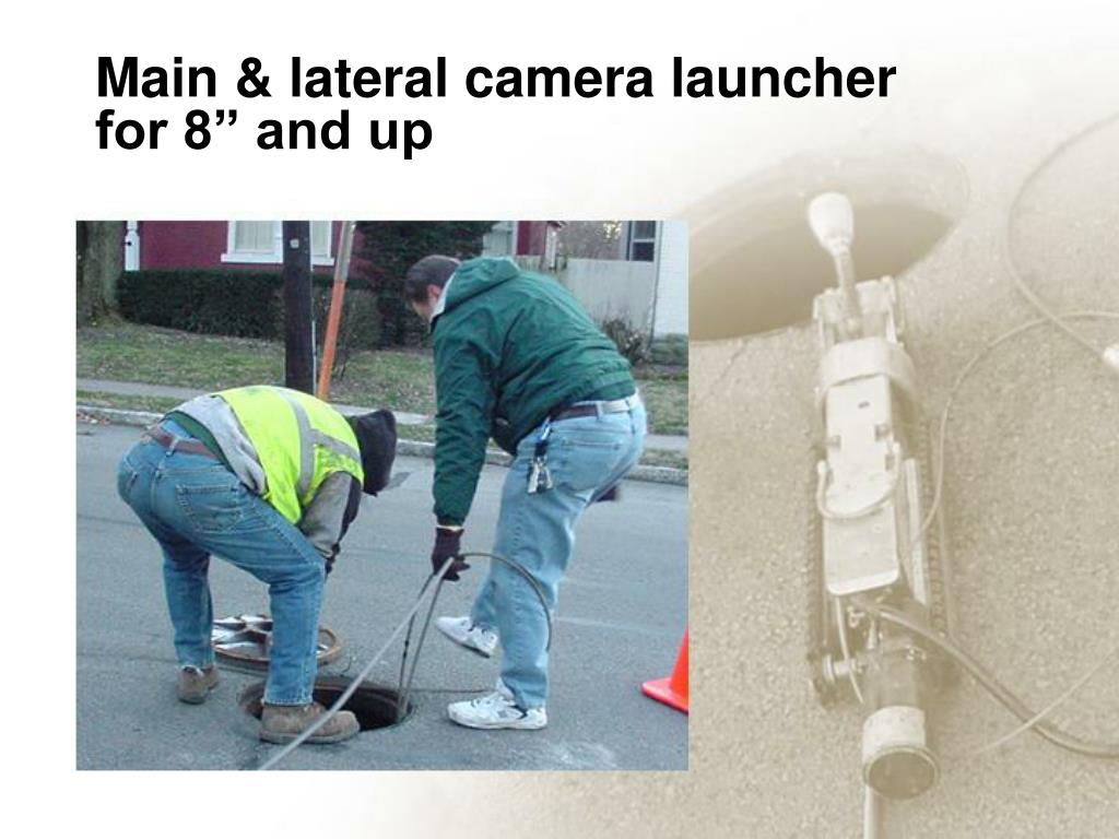 Main & lateral camera launcher