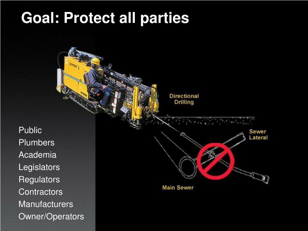 Goal: Protect all parties