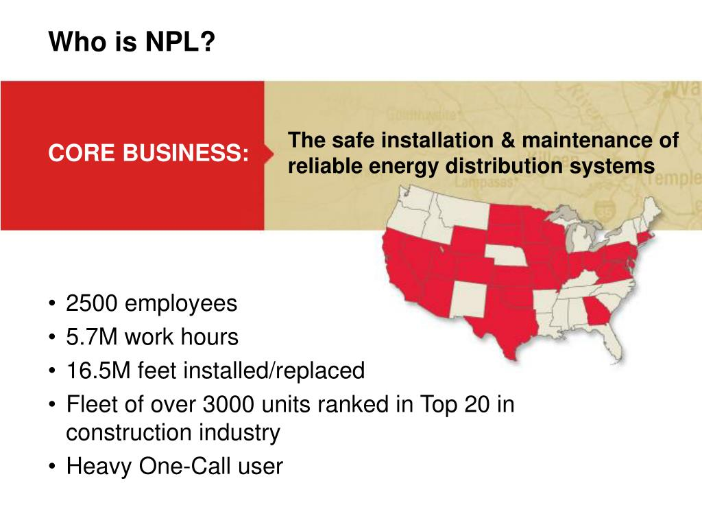 Who is NPL?
