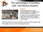 the advantages of building with the nudura system