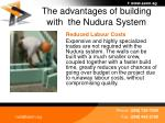 the advantages of building with the nudura system33