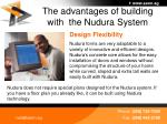 the advantages of building with the nudura system34