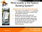 what exactly is the nudura building system4