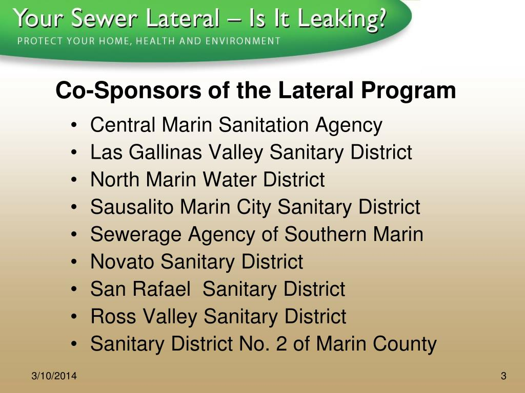 Co-Sponsors of the Lateral Program
