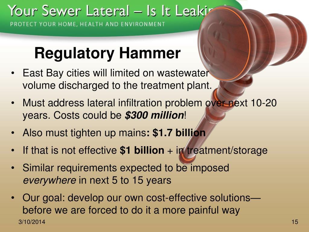 Regulatory Hammer