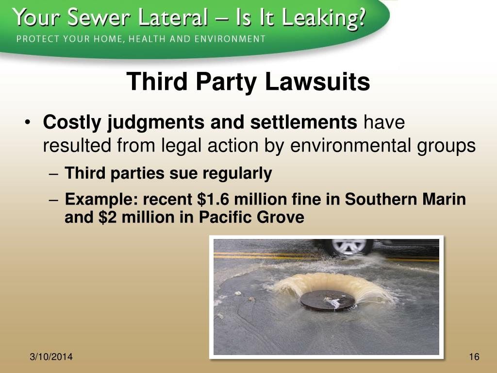 Third Party Lawsuits