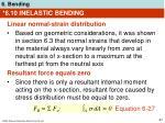 6 10 inelastic bending