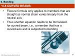 6 8 curved beams