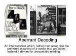 aberrant decoding3