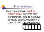 5 th amendment16