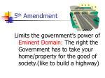 5 th amendment18